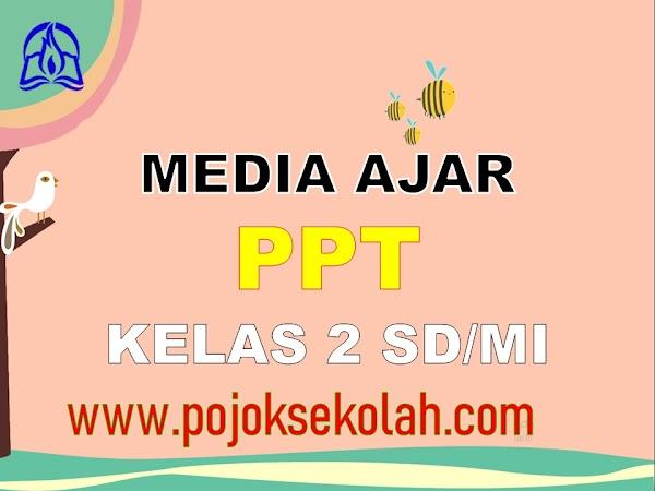 Media Pembelajaran Power Point (PPT) Kelas 2 SD/MI Kurikulum 2013