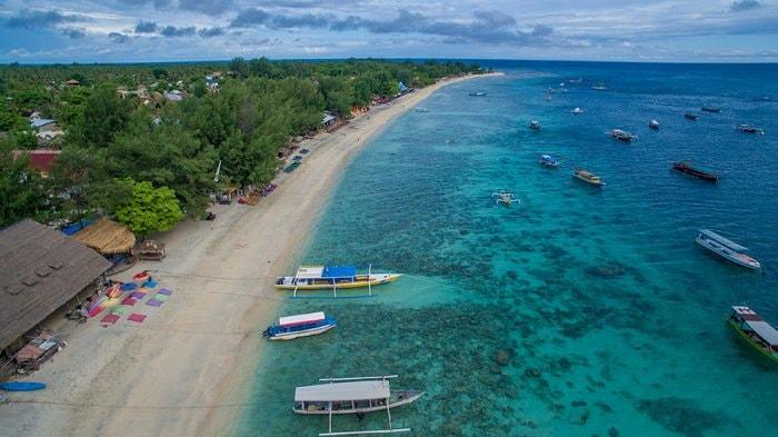 Pesona Keindahan Gili Trawangan Lombok Yang Memukau