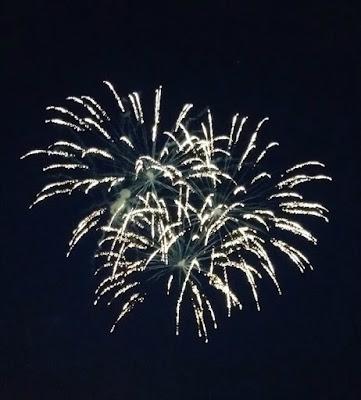 Fireworks in Harrisburg Pennsylvania