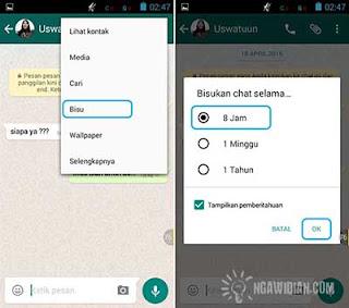 Bisukan Percakapan WhatsApp 5