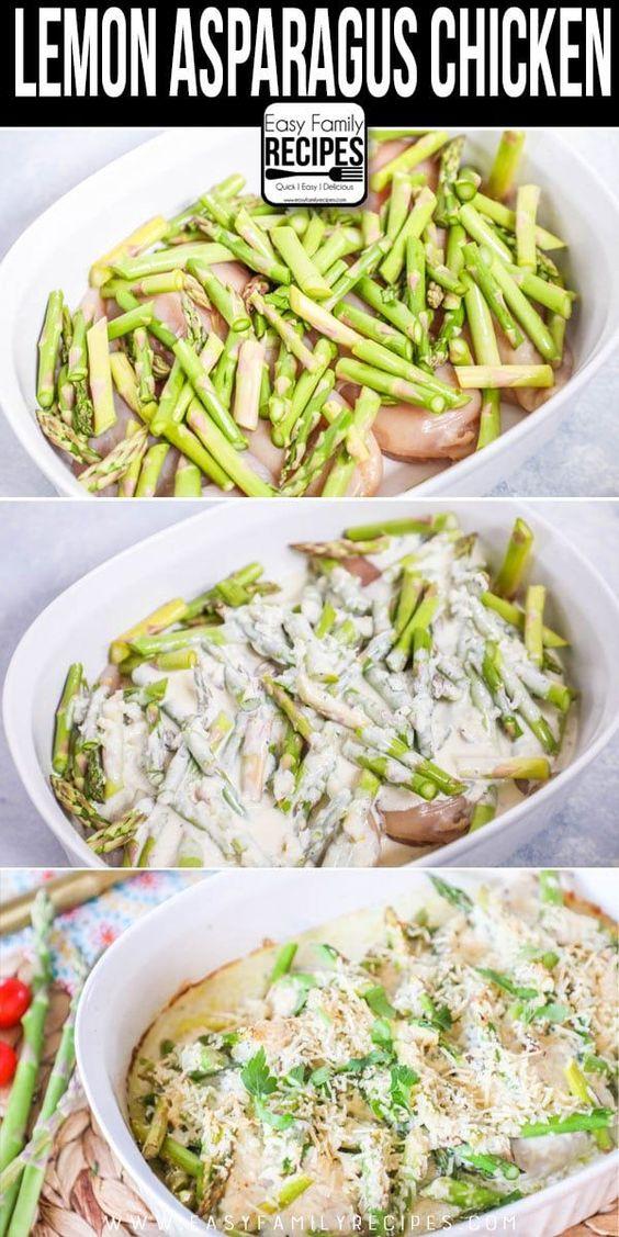 Lemon Asparagus Chicken