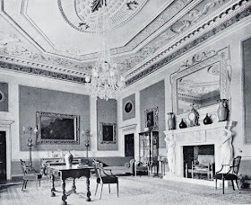 The Saloon, Hatchlands  from The architecture of Robert and James Adam by AT Bolton (1922)