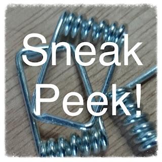 sneak peek, upcycled jewellery project