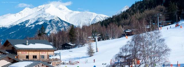 Esquiar em La Norma