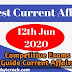 Current Affairs: 12th June & 13th June 2020 Best Daily Current Affairs