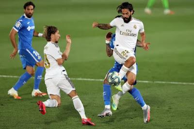 اهداف وملخص مباراة ريال مدريد وخيتافي (1-0) الدوري الاسباني