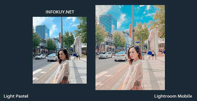 Tutorial Edit Light Pastel Lightroom