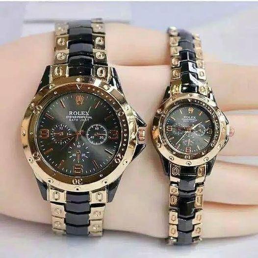Jam Tangan Couple Model Rolex JA0006