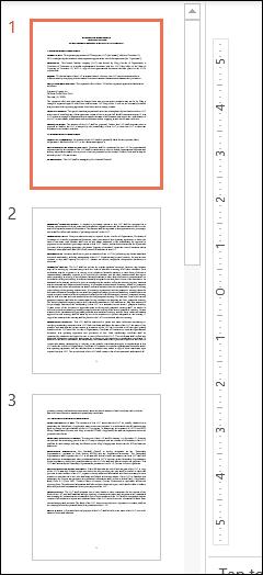 ملفات PDF في جزء المعاينة من PowerPoint