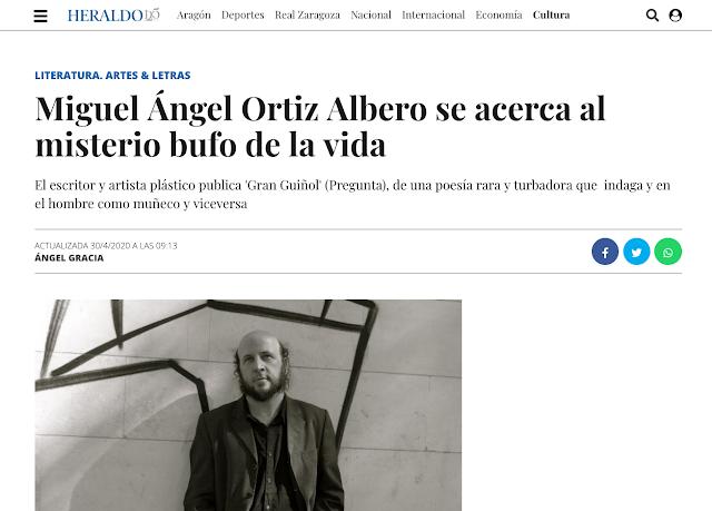 https://www.heraldo.es/noticias/ocio-y-cultura/2020/04/30/miguel-angel-ortiz-albero-se-acerca-al-misterio-bufo-de-la-vida-1372336.html