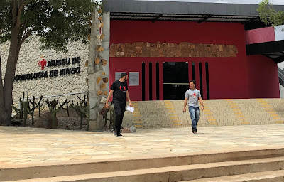 Foto Sylvia Leite - Matéria  Museu de Arqueologia de Xingó - BLOG LUGARES DE MEMÓRIA
