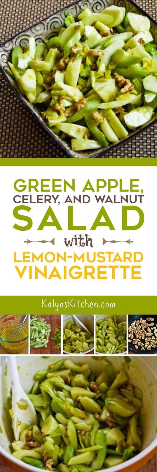 Green Apple, Celery, and Walnut Salad with Lemon-Mustard ...