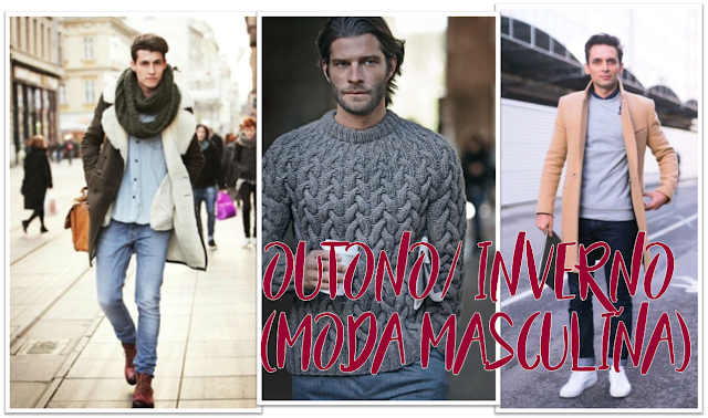 Peças para usar no inverno, looks com suéter masculina