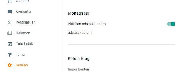 Cara Mengatasi Notifikasi Ads.txt di Google Adsense