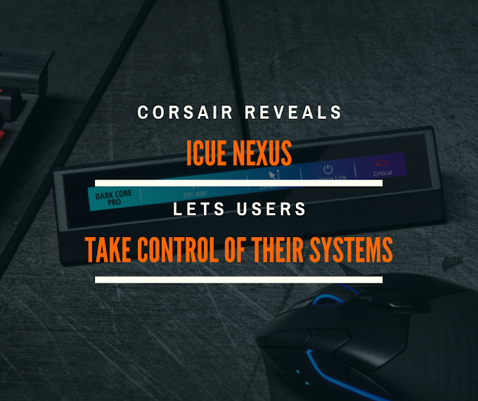 Corsair Launches iCUE Nexus