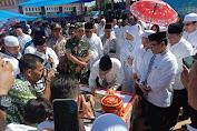 Kapolsek Rundeng Hadiri Peresmian Pasar Rakyat Desa Dah