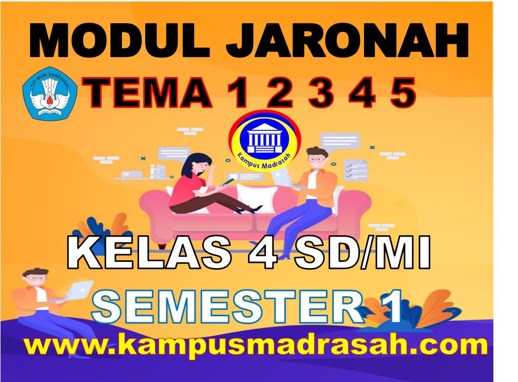 Modul BDR/PJJ Kelas 4 SD/MI