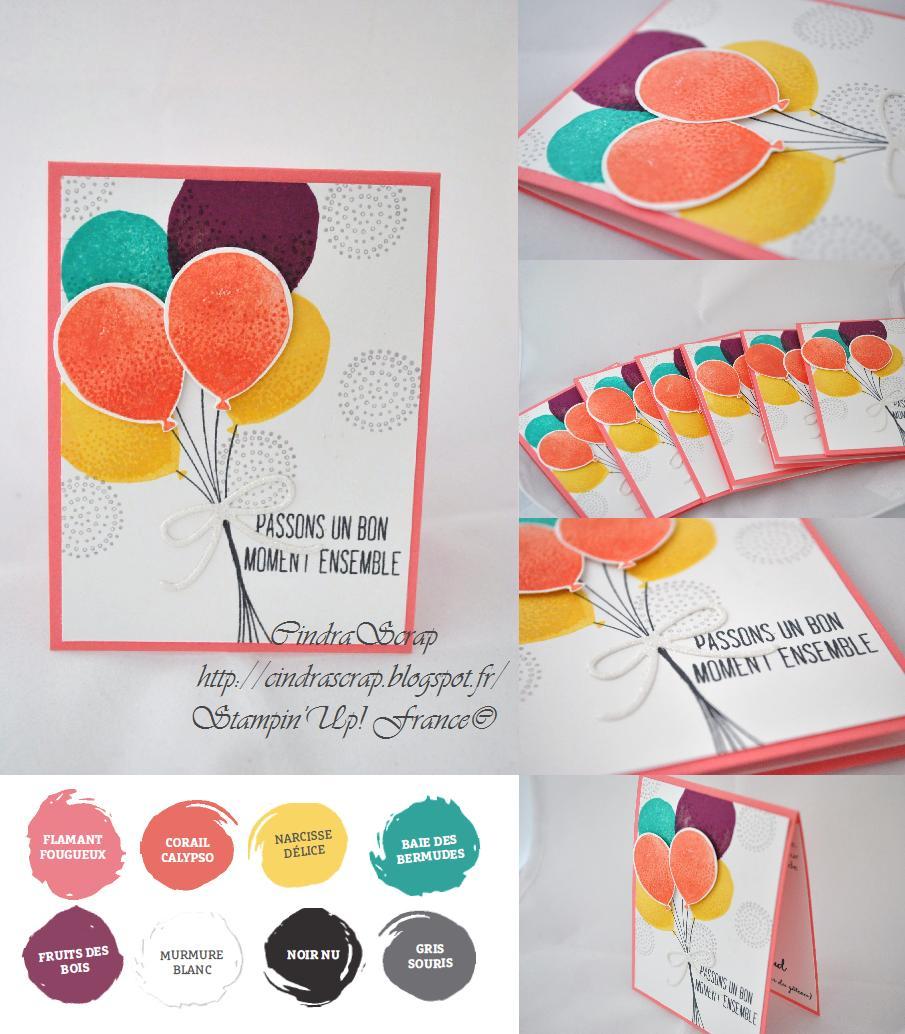 cindrascrap faire part d 39 anniversaire bouquet de ballons. Black Bedroom Furniture Sets. Home Design Ideas