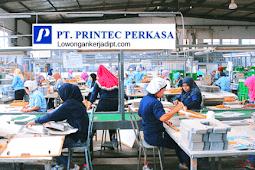 Lowongan Kerja PT Printec Perkasa Via Pos