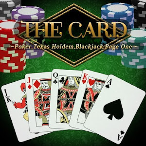 THE Card Poker, Texas hold em, Blackjack and Page One
