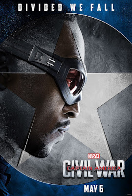 "Captain America: Civil War ""Team Cap"" Character Movie Poster Set - Anthony Mackie as The Falcon"