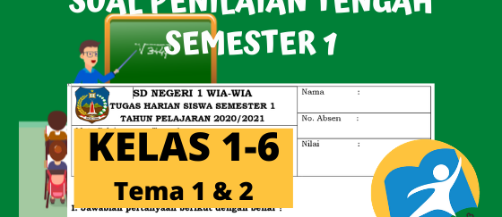 Kisi-Kisi Soal PTS Kelas 2 Semester 1 K13 Revisi Terbaru