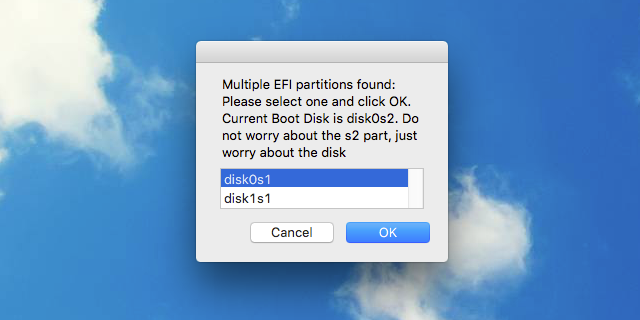A Quick Guide To Your Hackintosh's EFI Partition