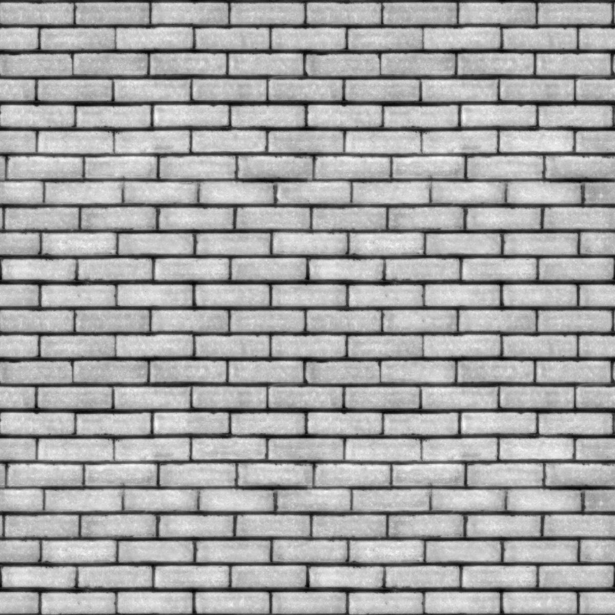 Fireplace 3d Wallpaper Tileable Grey Brick Wall Texture Maps Texturise Free