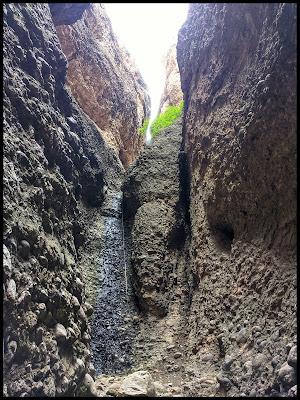 Waterfall in Maple Box Canyon Moroni Utah