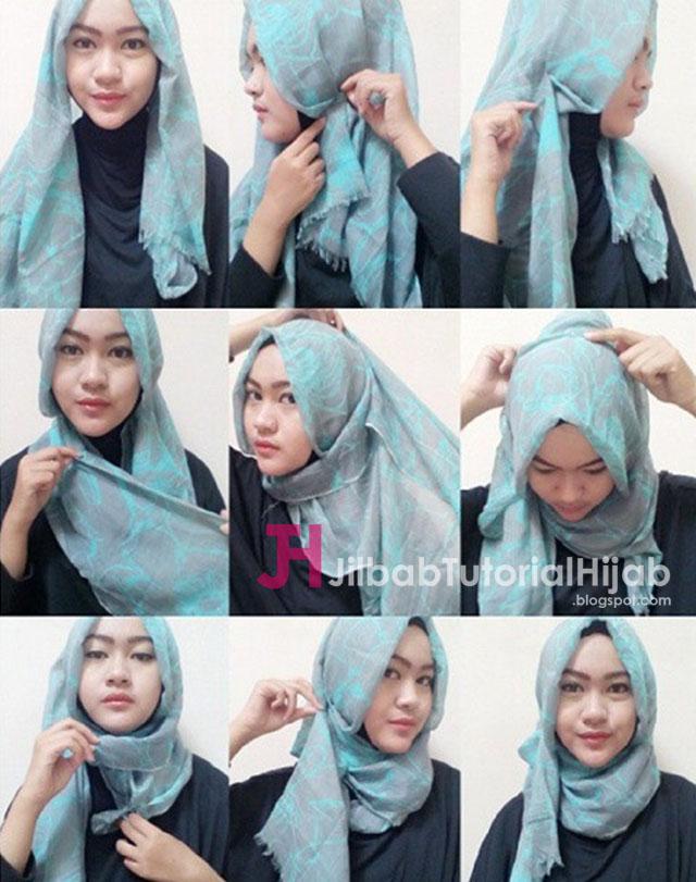 Tutorial Hijab Pashmina Untuk Ke Kampus Jilbab Tutorial Hijab