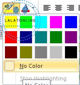 Menghapus warna background tulisan hasil copy paste di word