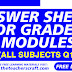 ANSWER SHEET MODULE GRADE 2 Q1 ALL SUBJECTS