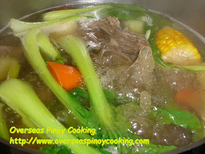 Nilagang Beef Ribs, Nilagang Tadyang ng Baka - Cooking Procedure