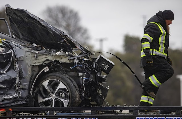 A massive pileup involving more than 130 vehicles on an icy Texas