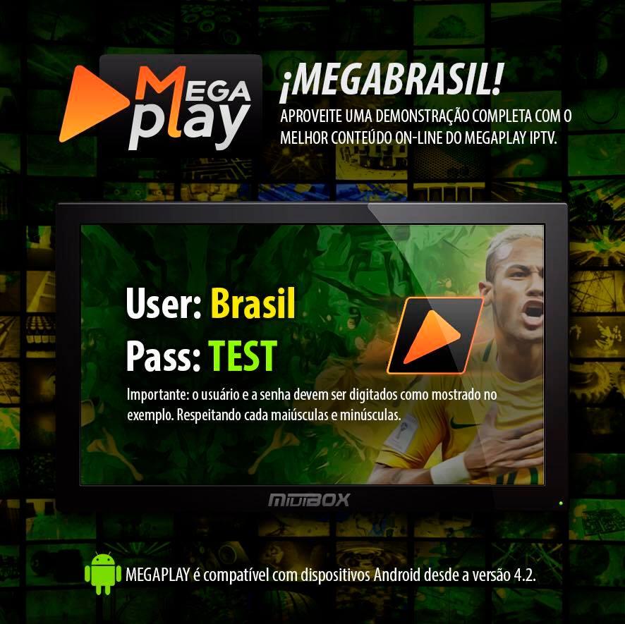 Mega Play App IPTV de canais 100% funcional,confira! - KaduSat