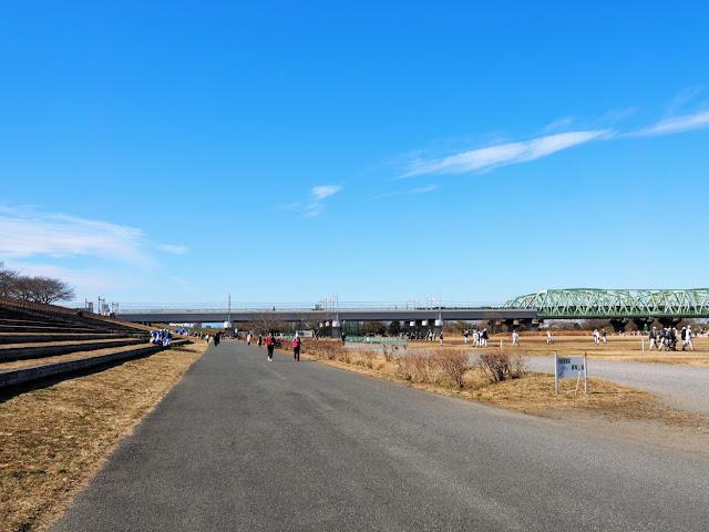 荒川自転車道 京浜東北線・東北本線