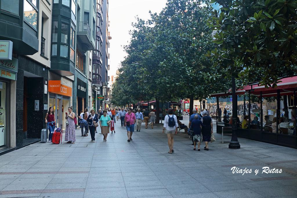 Calle Corrida de Gijón