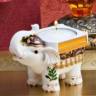 Elephant Theme Baby Shower Cake Image