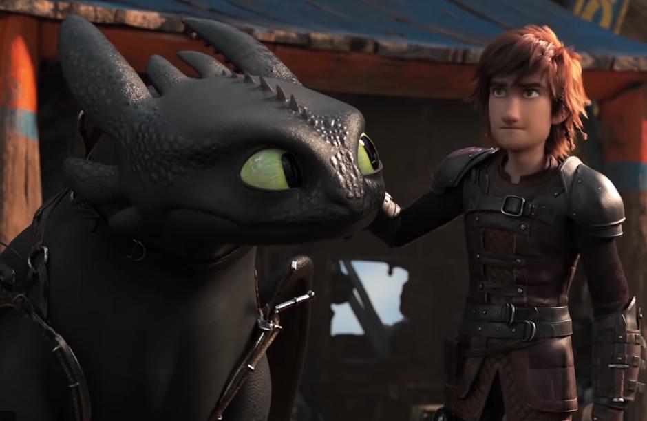 """Novo trailer de """"Como Treinar o Seu Dragão 3"""" coloca os Vikings e Dragões em perigo"""
