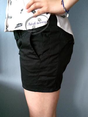 Adzik tworzy - jak powiększyć spodnie w pasie DIY