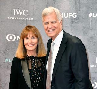 Mark Spitz with his wife Suzy Weiner