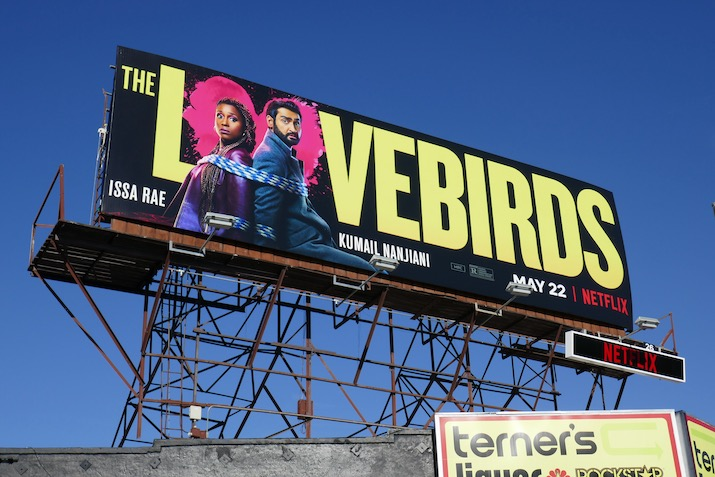 Lovebirds Netflix film billboard