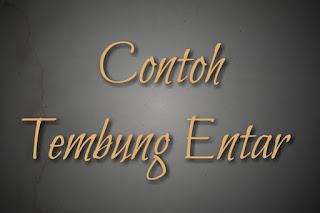 Tembung Entar Bahasa Jawa