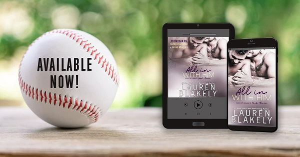 Available Now! All in With Him by Lauren Blakely.