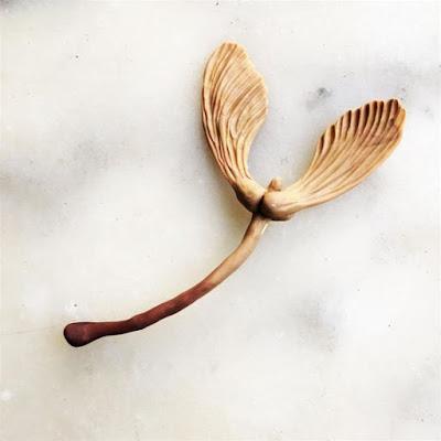 Broche graines d'érable, La Fille du Consul- Delphine R2M - bijoux contemporains