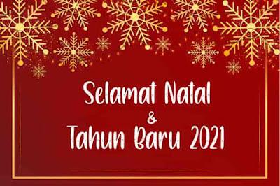 natal dan tahun baru 2021