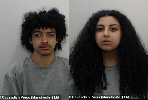 Student, 17, is jailed for 16 years for encouraging her boyfriend to 'prove his love' by killing his ex-girlfriend