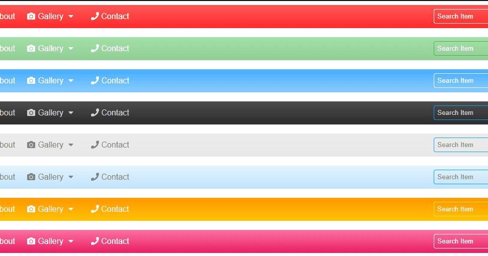 create responsive navbar using html css jquerycodingtuting