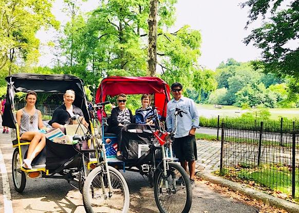 Central Park Pedicab Tours - NYC Rickshaw Tours