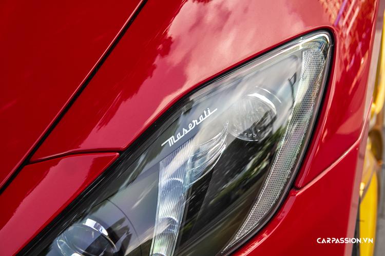 Maserati GranTurismo Sport tiền tỷ, màu đỏ độc nhất Việt Nam